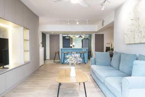 Contemporary New 5-Room HDB by 13th Design Studio Pte Ltd