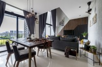 Contemporary New Condominium by Carpenters 匠