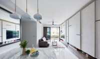 Scandinavian New Condominium by Carpenters 匠