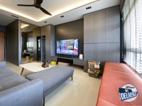 Industrial New 4-Room HDB by Sky Creation