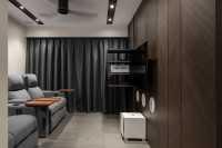 Contemporary New 4-Room HDB by Neu Konceptz Pte Ltd
