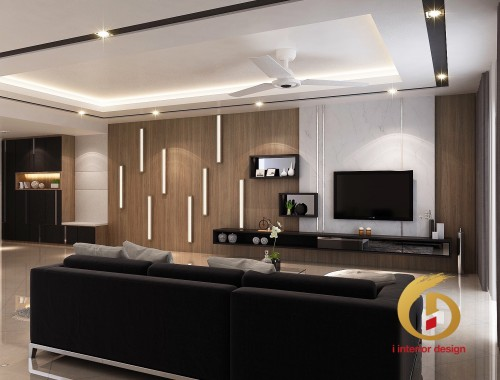 Contemporary Resale 5-Room HDB by I Interior Design