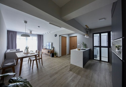 Modern New 4-Room HDB by Carpenters 匠