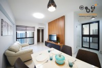 Contemporary Resale 3-Room HDB by Dots 'N' Tots Interior Pte Ltd
