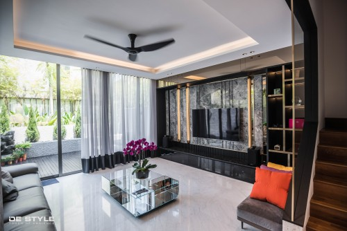 Contemporary Resale Landed by De Style Interior Pte Ltd