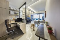 Modern Resale Condominium by The Interior Lab Pte Ltd