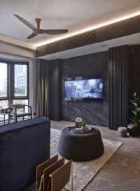 Contemporary New Condominium by Honeycomb Design Studio
