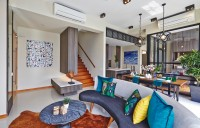 Industrial New Condominium by Honeycomb Design Studio