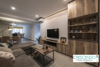 Modern Resale 3-Room HDB by Crescendo Interior & Lifestyle Pte Ltd