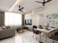 Scandinavian New Condominium by Design Avenue