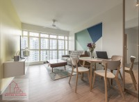 Scandinavian Resale 3-Room HDB by Metier Planner