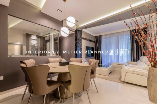 Modern New Condominium by Metier Planner