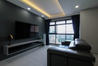 Contemporary Resale 4-Room HDB by Sense & Semblance Pte Ltd