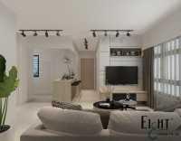 Modern Resale 3-Room HDB by Eight Design Pte Ltd