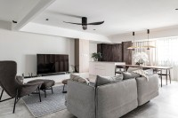 Contemporary Resale Executive HDB by erstudio Pte Ltd