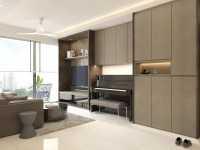 Contemporary New Condominium by Fyner Interior Pte Ltd
