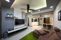 Contemporary New 4-Room HDB by The Design Define Pte Ltd