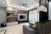 Contemporary Resale 4-Room HDB by Cheng Yi Interior Design