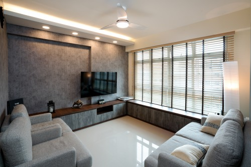 Modern New 4-Room HDB by Cheng Yi Interior Design