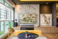 Modern Resale 5-Room HDB by Design 4 Space Pte Ltd