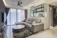 Industrial New Condominium by Fyner Interior Pte Ltd