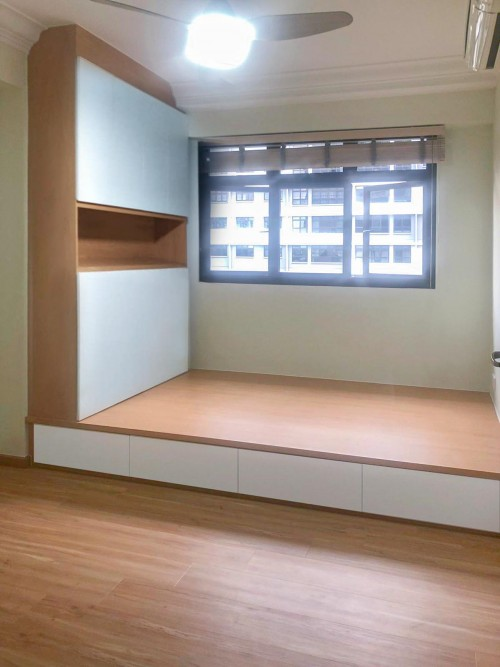 Modern Resale 3-Room HDB by Sky Creation