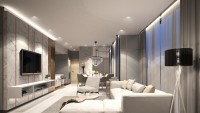 Modern New Condominium by WRX Interior