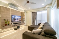 Contemporary Resale 3-Room HDB by Design 4 Space Pte Ltd