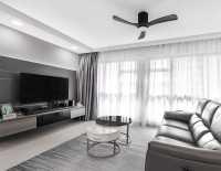 Modern Resale 4-Room HDB by U-Home Interior Design Pte Ltd