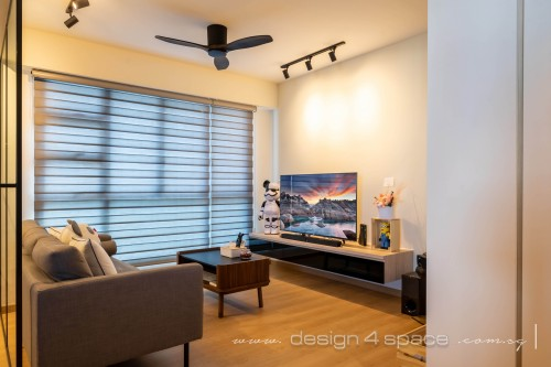 Scandinavian New 4-Room HDB by Design 4 Space Pte Ltd