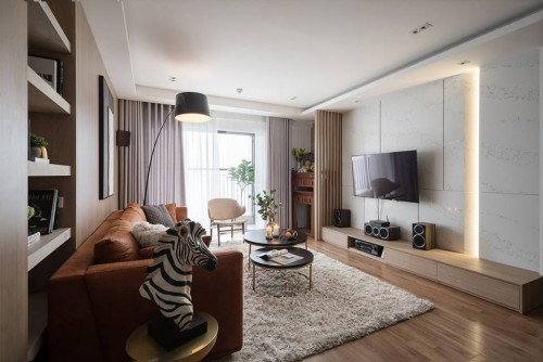 Contemporary Resale Condominium by Zenith Design Theory Pte Ltd