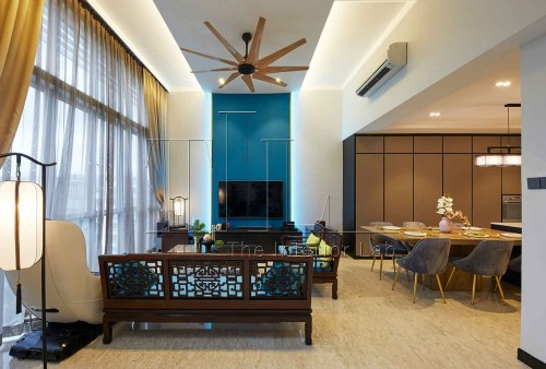 Asian Resale Condominium by The Interior Lab Pte Ltd