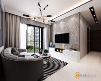 Contemporary New Condominium by Omni Design Pte Ltd