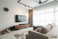 Modern New 5-Room HDB by Starry Homestead Pte Ltd