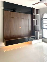 Modern New 5-Room HDB by Sky Creation