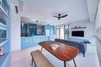 Eclectic Resale Condominium by The Interior Lab Pte Ltd