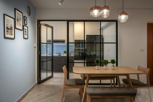 Contemporary New Executive HDB by Zenith Arc