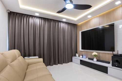 Modern New 5-Room HDB by U-Home Interior Design Pte Ltd