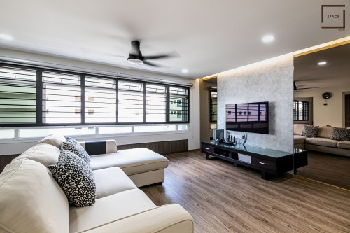 Contemporary Resale Executive HDB by Space Atelier Pte Ltd