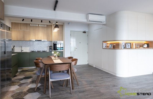 Scandinavian Resale 4-Room HDB by Starry Homestead Pte Ltd