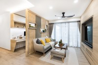 Asian Resale 4-Room HDB by U-Home Interior Design Pte Ltd