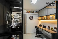 Contemporary New 4-Room HDB by Dots 'N' Tots Interior Pte Ltd