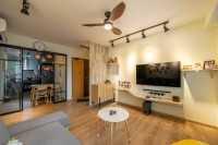Scandinavian Resale 4-Room HDB by Areana Creation Pte Ltd