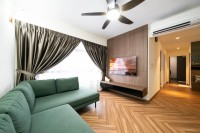 Modern New 3-Room HDB by Design 4 Space Pte Ltd
