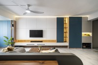 Minimalist Resale 5-Room HDB by Livspace