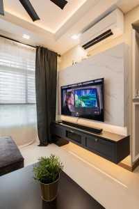 Modern New 4-Room HDB by Letz Interior