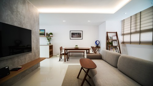 Contemporary Resale 4-Room HDB by M2 DECOR Pte Ltd