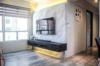 Industrial New 4-Room HDB by Letz Interior