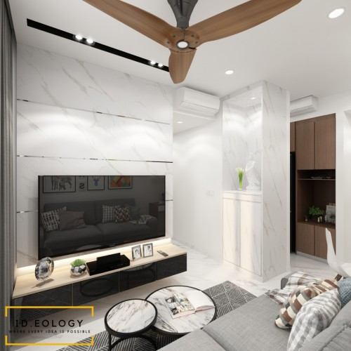 Contemporary New Condominium by Ideology Interior