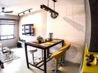 Industrial Resale Studio HDB by Letz Interior